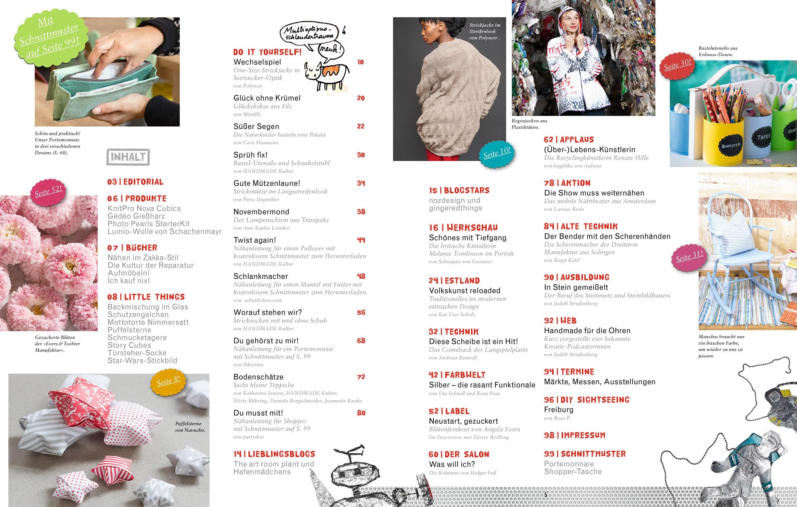 handmade kultur magazin 04 2013 handmade kultur. Black Bedroom Furniture Sets. Home Design Ideas