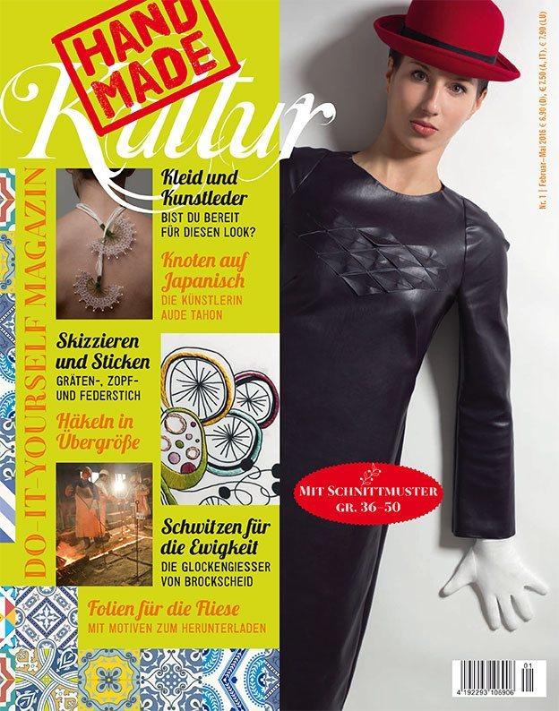 Abo / Magazin Handmade Kultur bestellen - DIY Zeitschrift mit ...