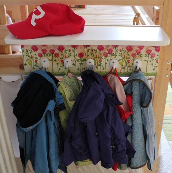 Garderobe für Prinzessinnen