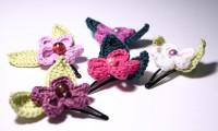Blumen fürs Haar - Blütenhaarspangen