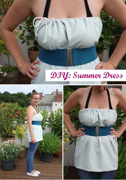 Einfaches Sommerkleid (in nur 60 Minuten :)).