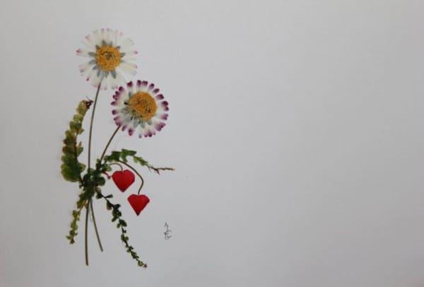 Blütenkarten selbst gemacht!