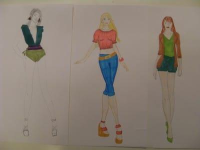 Kurs modezeichnen workshop f r teens 13 17 j hrige for Modezeichnen kurs
