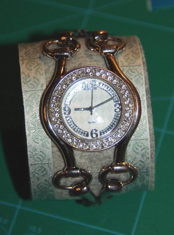 Tutorial: Uhrenarmband aus Filz