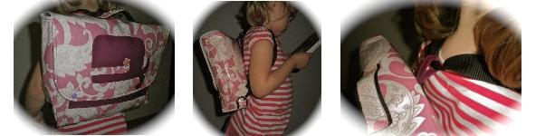 Eine Schultasche (oder Laptoptasche, oder Aktentasche...oder, oder, oder)
