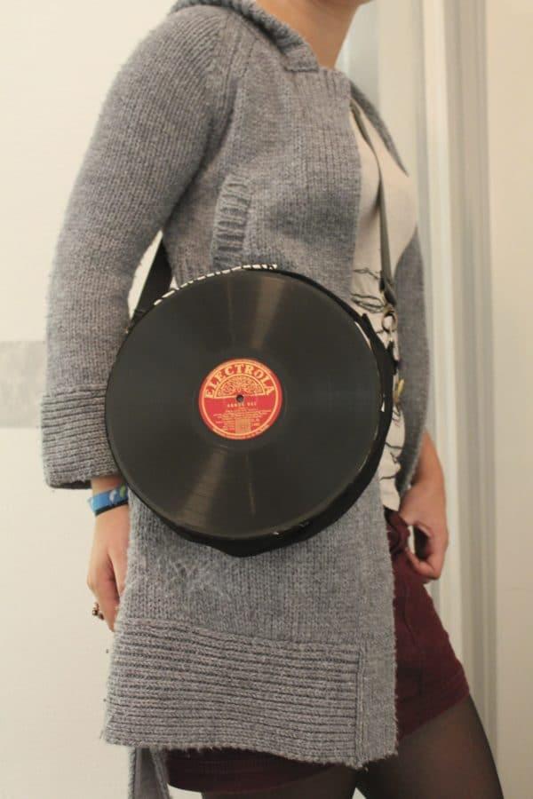 Schallplattentasche