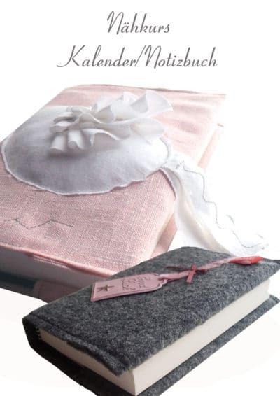 Nähkurs Kalender/Buchhülle