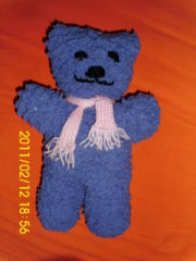 Teddy stricken