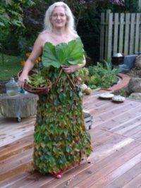 PartyKleid im Herbst