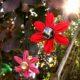 Kanzashi - Weihnachtsschmuck
