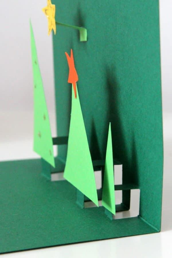 Weihnachtskarten Origami.Weihnachtskarten In 3d Handmade Kultur