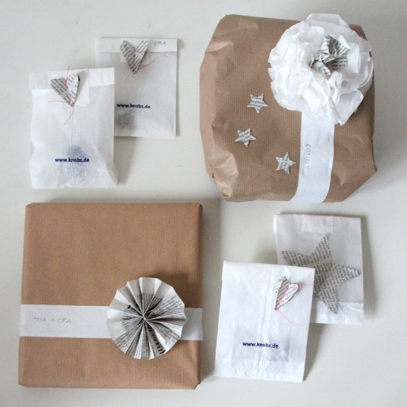 rezept backofen geschenke toll verpacken. Black Bedroom Furniture Sets. Home Design Ideas