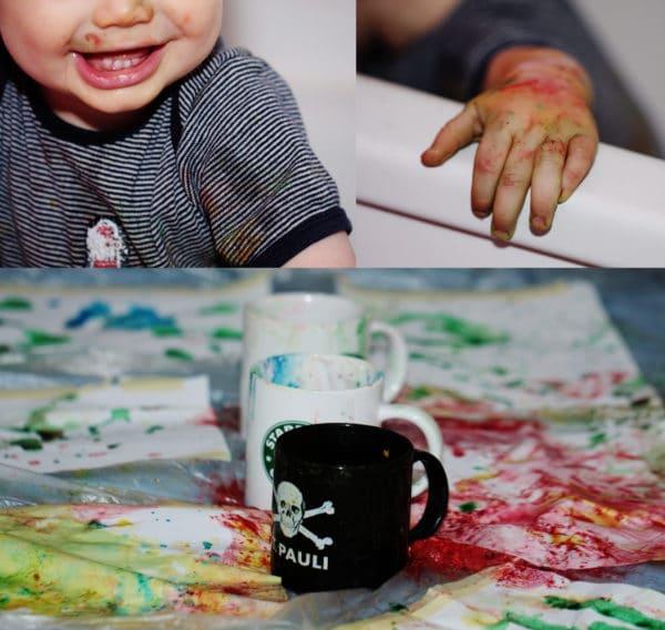ungiftige Wasser-/Fingerfarben selbstgemacht!