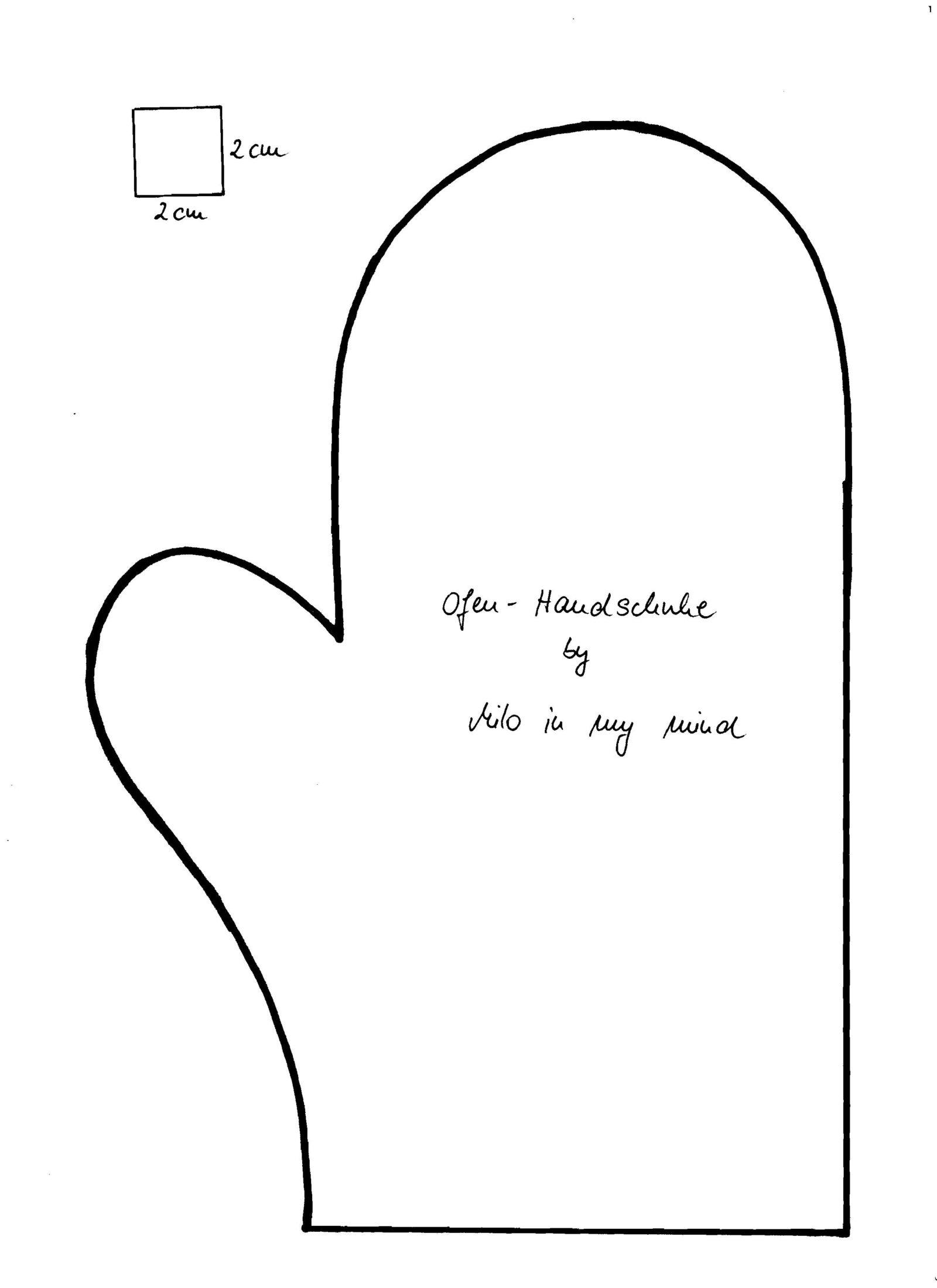 Ofen-Handschuhe - Handmade Kultur