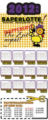 DIY Kalender-Tasche
