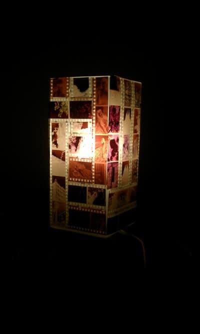 negative lampe handmade kultur. Black Bedroom Furniture Sets. Home Design Ideas