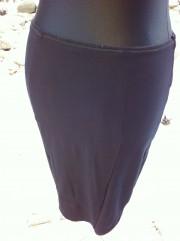 stretchrock schwarz
