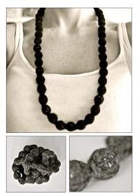 Halskette 'Liesel strickt!'