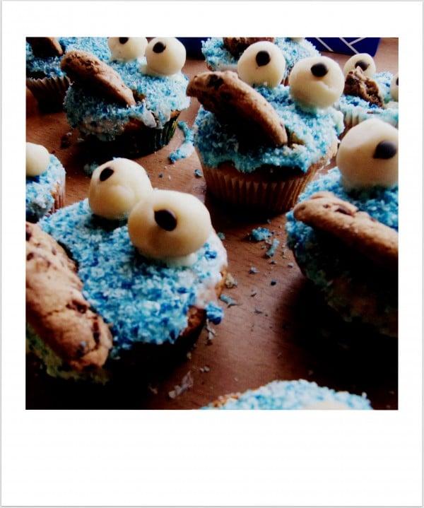 Krümelmonster -Muffins