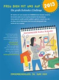 Die Handmade Kalender Challenge 2013 – So bist du dabei!