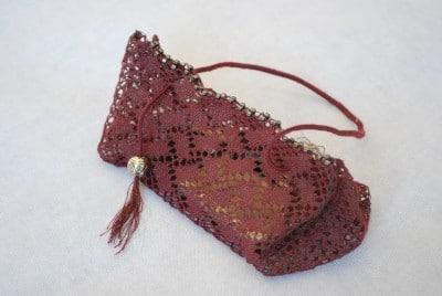 geklöppelte Taschen in besonderen Formen