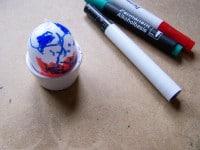 DIY Kunststoff Ostereier