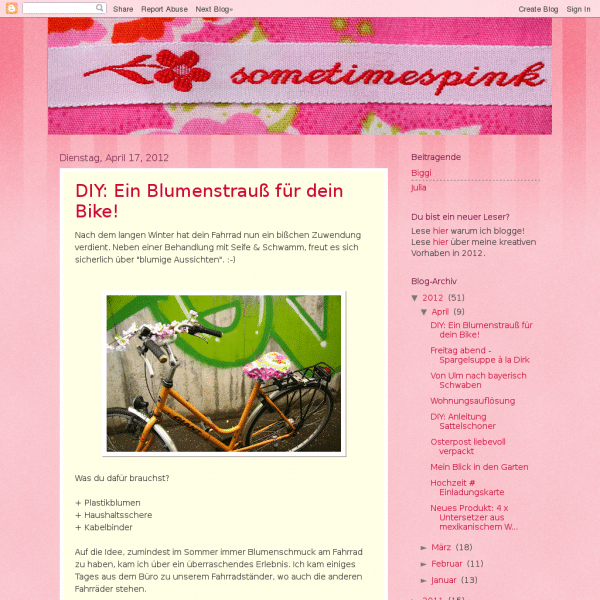 Screensho  sometimespink-diy.blogspot.de/