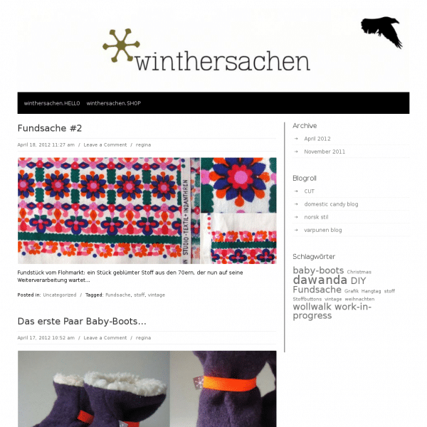 Screensho  winthersachen.de