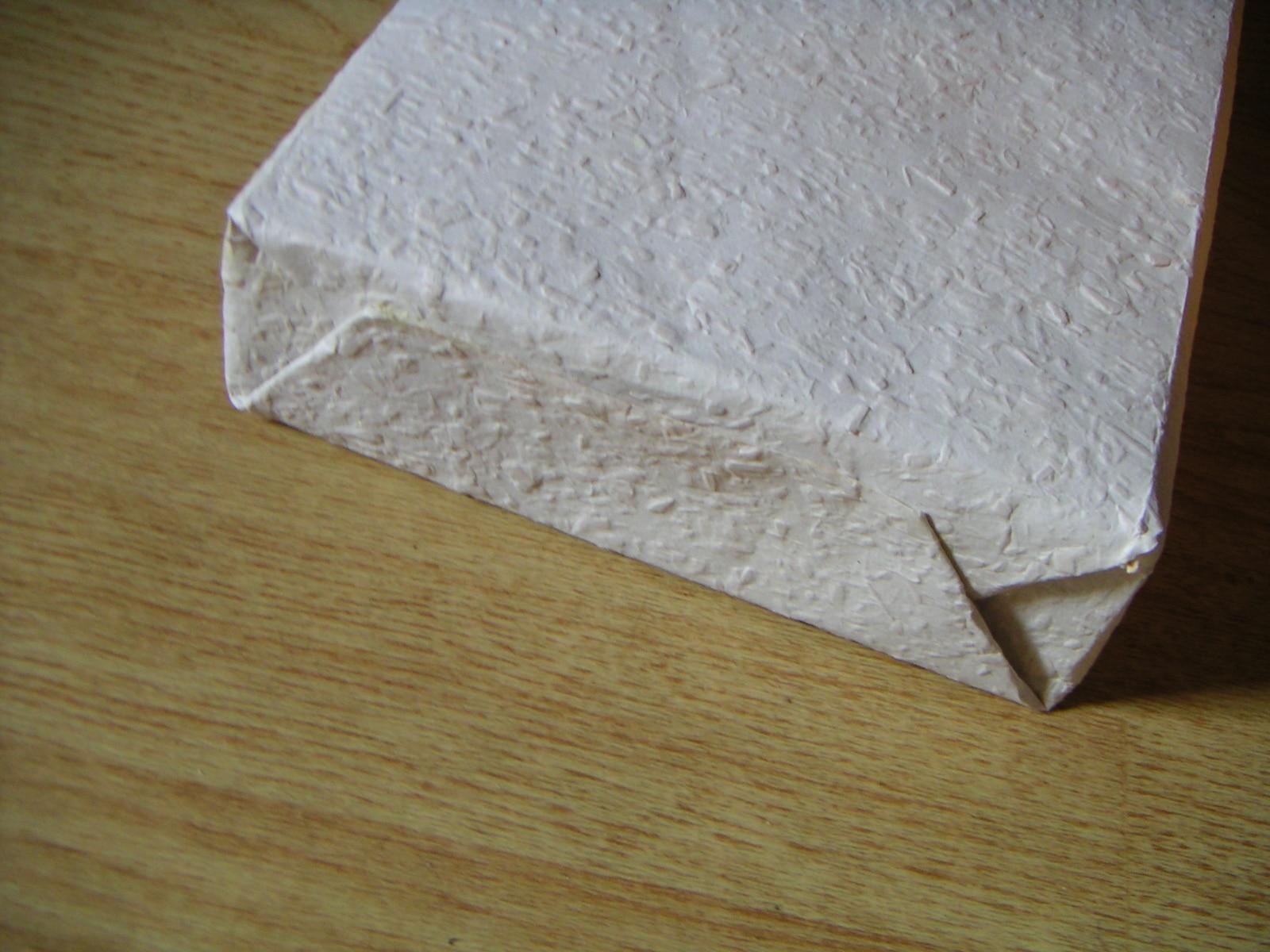 geschenktasche aus tapete handmade kultur. Black Bedroom Furniture Sets. Home Design Ideas