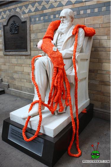 Knit the city. Eine Aufforderung die Welt zu verbessern