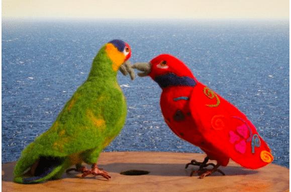 Papagei von Ana Christina - HANDMADE Kultur