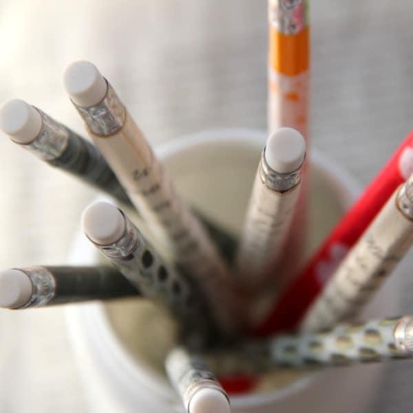 Endlich schöne Bleistifte {DIY}