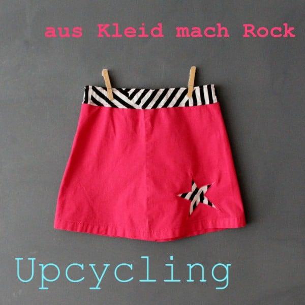 Kleid zu Rock ★ Upcycling