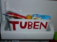 Praktischer Helfer zur Aufbewahrung von Tuben