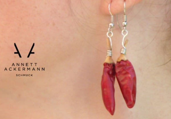 Chili-Ohrringe