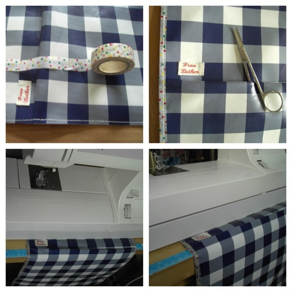 Fadensammlertasche für deine Nähmaschine