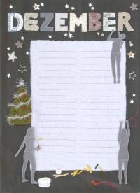 Gestickt-näh-strick-schneid-auffädel-basteltes Kalenderblatt