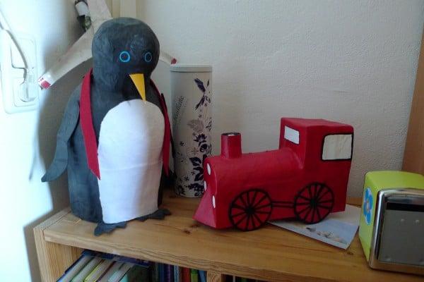 Pinguin-Pinata / Lok-Pinata