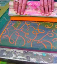 SIEBDRUCK auf Textilien und Papier