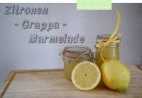 Zitronen - Grappa - Marmelade