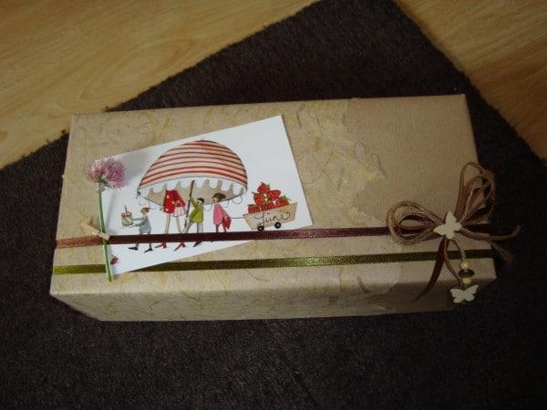 Das wahre Geschenk ist die Verpackung.