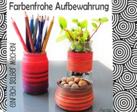 DIY - Farbenfrohe Aufbewahrung