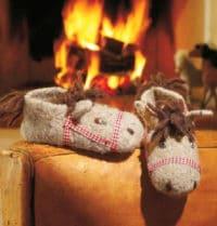 Pferdchenpuschen aus Filzwolle