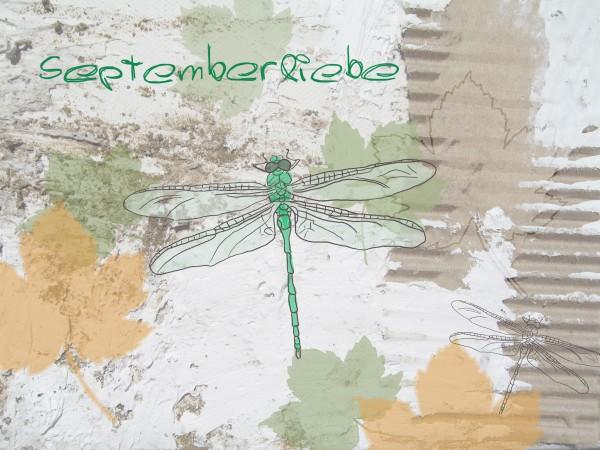 Septemberliebe - Kalenderblatt
