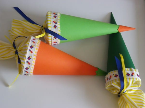 Mini-Schultüten DIY Tutorial