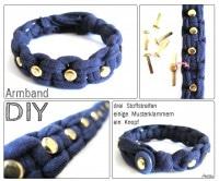 DIY - Makramee-Armband