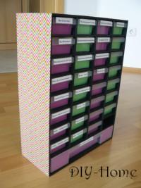 ordnungssystem 6 diy anleitungen und ideen. Black Bedroom Furniture Sets. Home Design Ideas