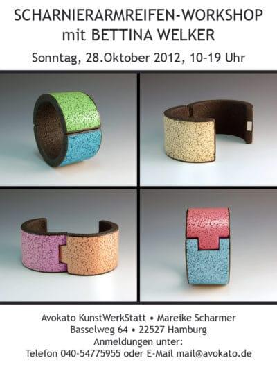 Scharnierarmreifen-Workshop mit Bettina Welker