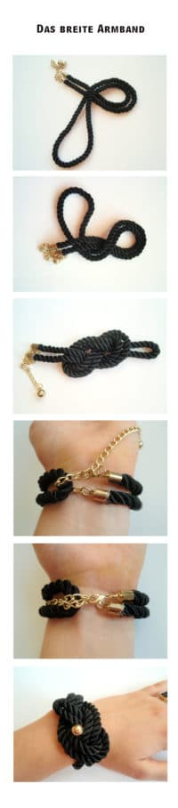 Armband aus einem Gürtel (H&M-Hacking)