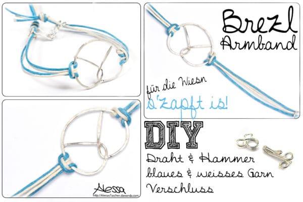 DIY - Brezel-Armband